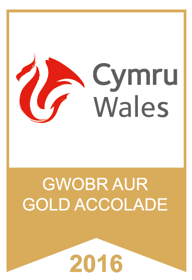 Cymru Wales Gold Accolade Award 2016
